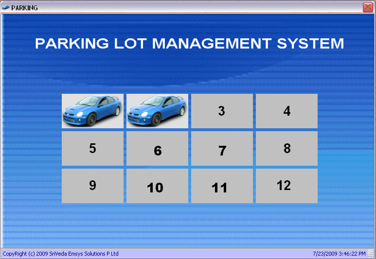 car parking slot allocation system Smart parking system based on embedded system and sensor network faiz ibrahim shaikh student, department of a desperate need of multilevel car parking and which should be smart also closest parking slot from the list which also the first element of the optimized list[o(1).